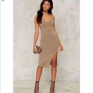 🛑2️⃣Croft slit dress